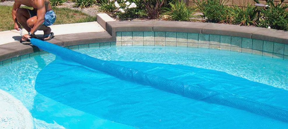 Blue Wave Rectangular 12-Mil Solar Blanket For In Ground Pools