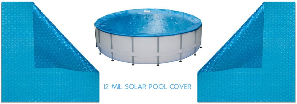 In The Swim 12 Mil Pool Solar Cover 16 x 32 ft. Rectangle
