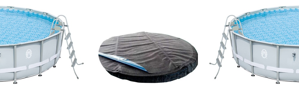 Down Under Black/Blue Solar Cover - 20x40 Rectangle In ground Pool - 120 Grade - Premium Solar Heater Blanket